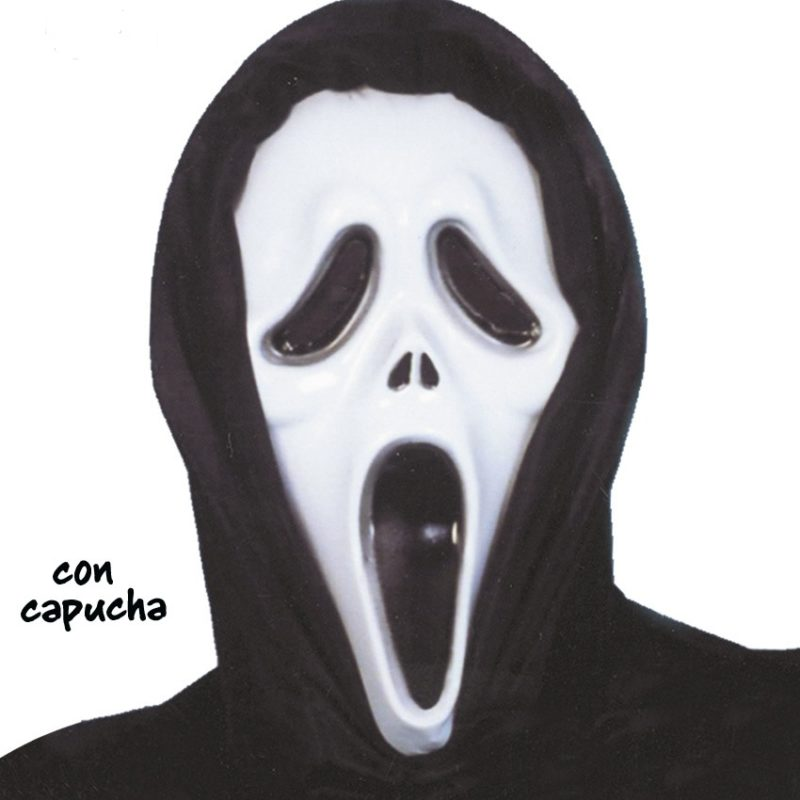 1140 CARETA SCREAM PLASTICO CON CAPUCHA