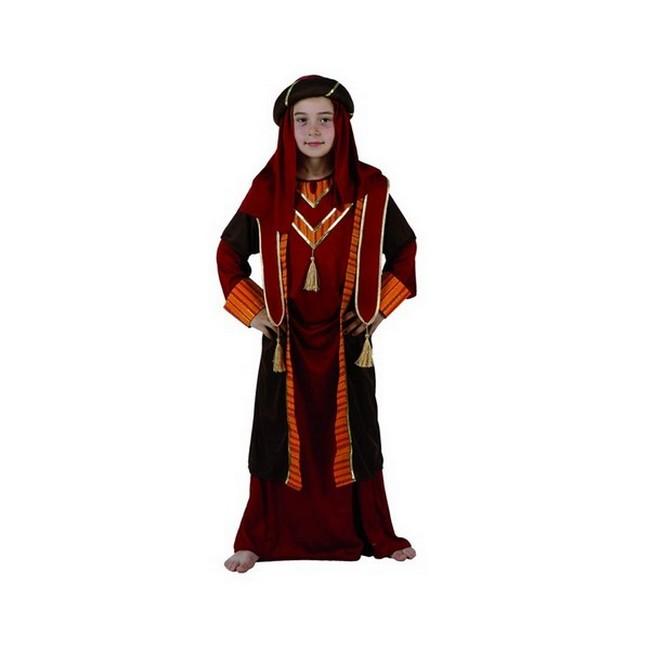 disfraz árabe rojo niño