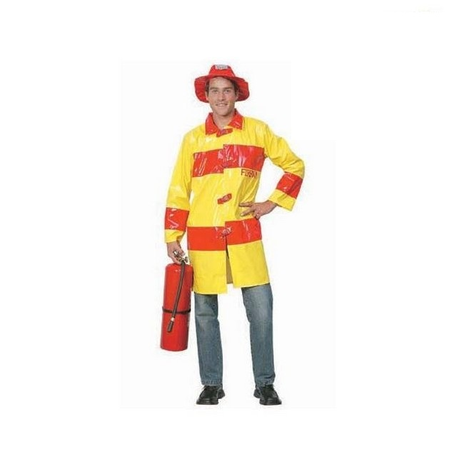 disfraz bombero-amarillo hombre