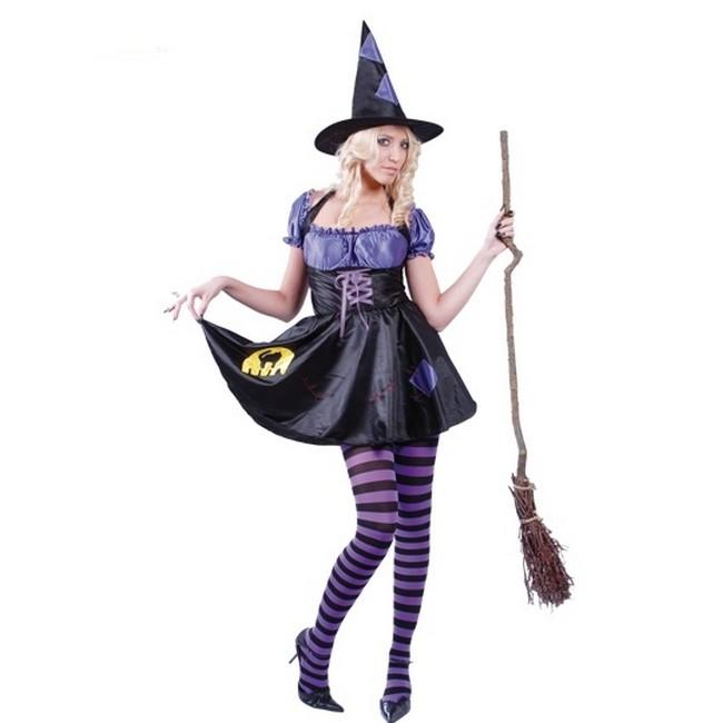 -disfraz-bruja-hechicera-halloween mujer