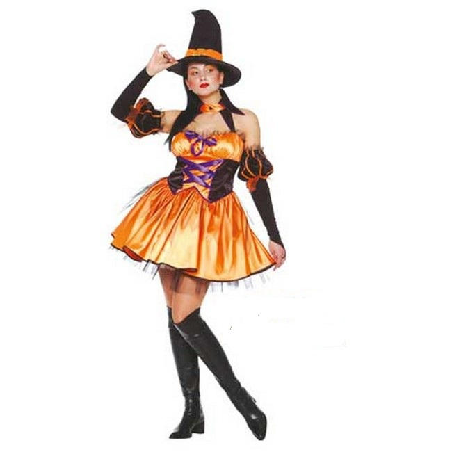 disfraz bruja morgana mujer