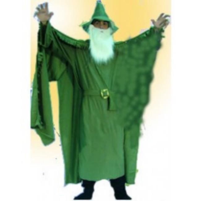 disfraz brujo hombre