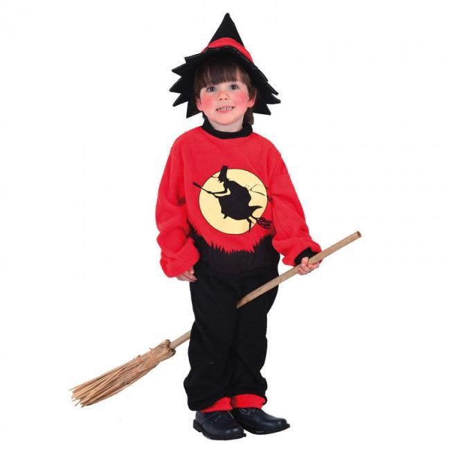 disfraz brujo niño