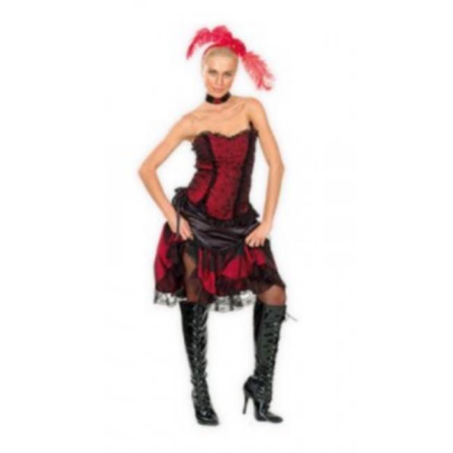 disfraz cabaretera mujer