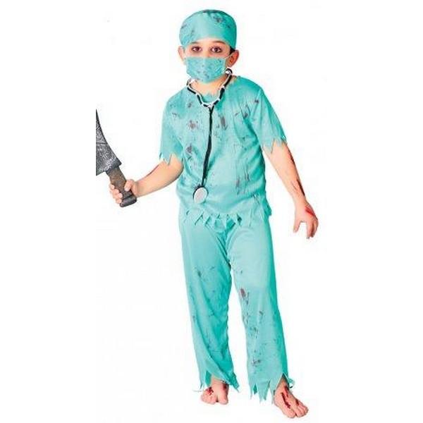 disfraz de cirujano zoombie infantil