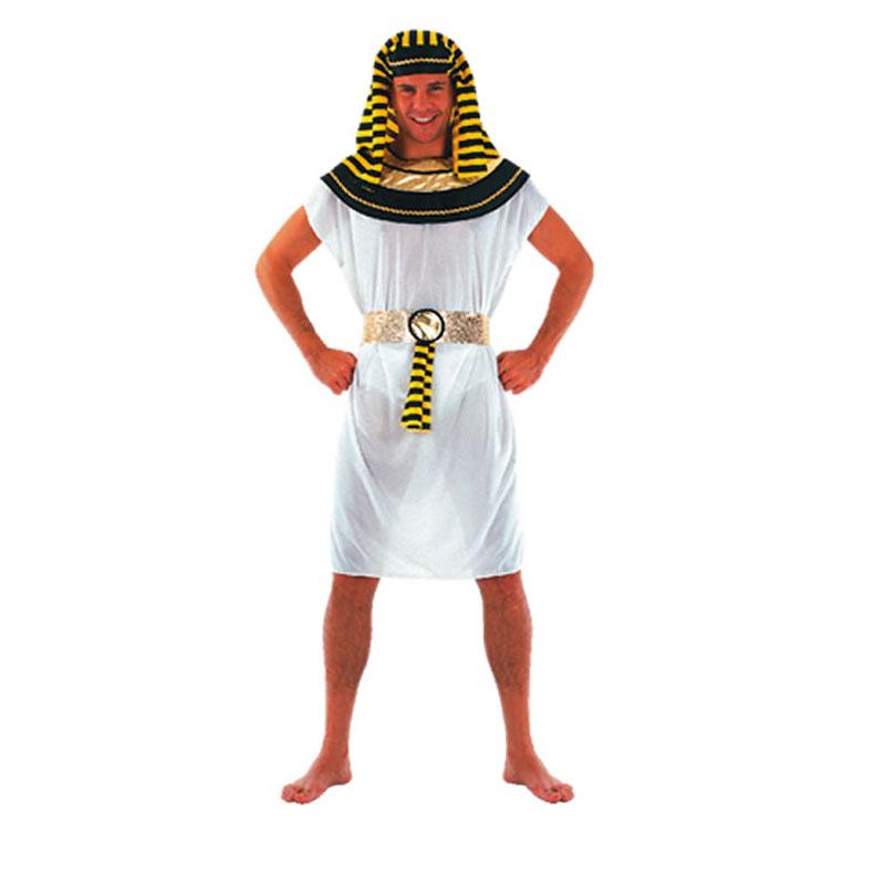 disfraz de faraon corto adulto