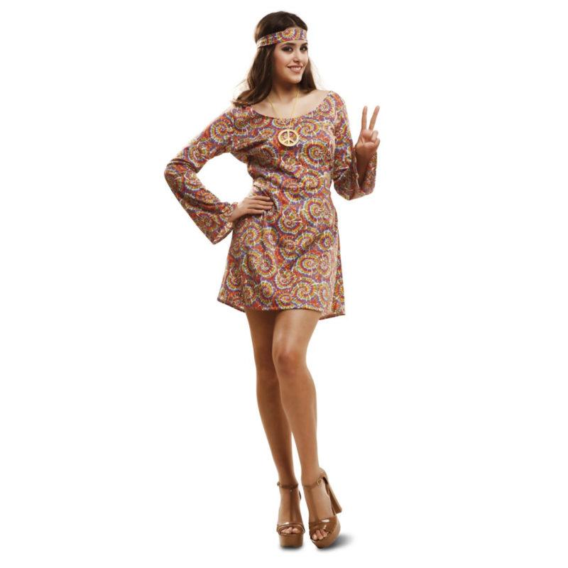 disfraz de hippie psicodélico mujer 201989mom