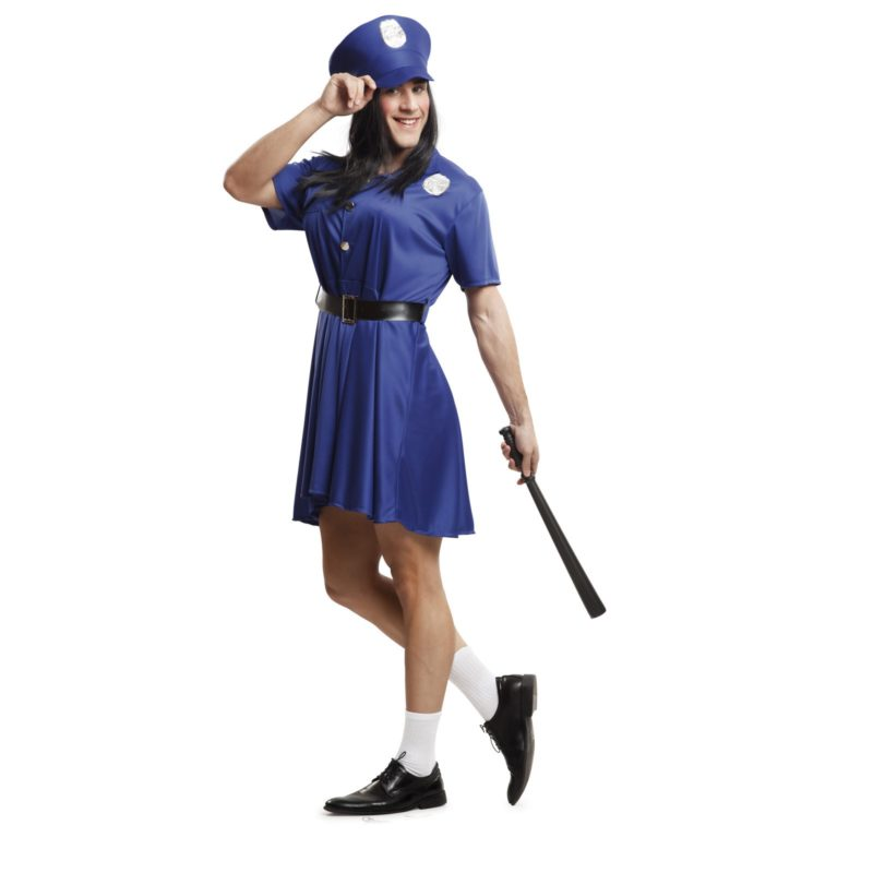 disfraz de policia mujer para hombre 203531mom