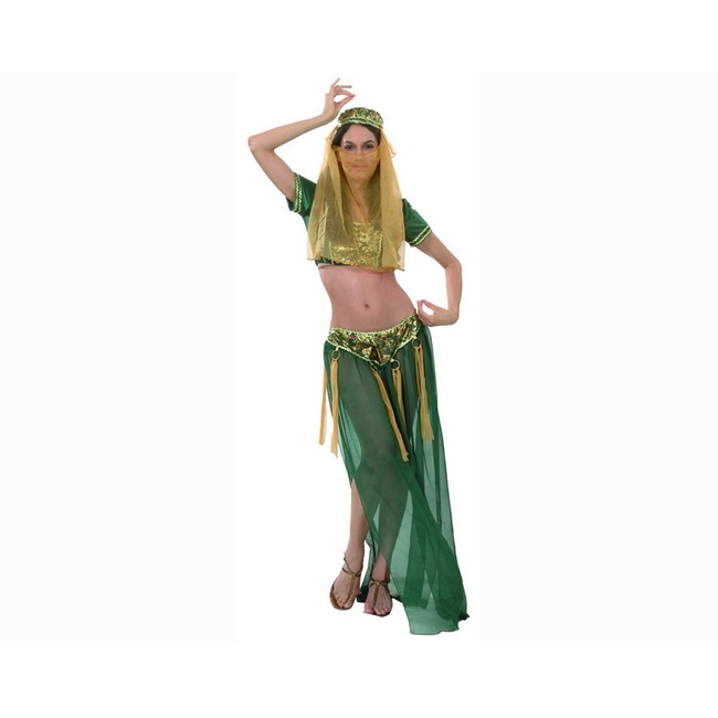 disfraz de reina árabe mujer