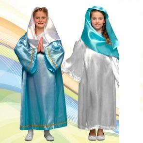 disfraz de virgen infantil