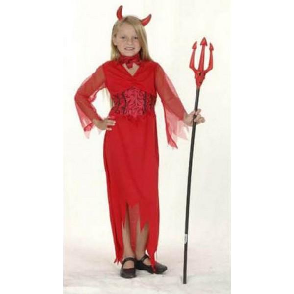 disfraz demonia infantil