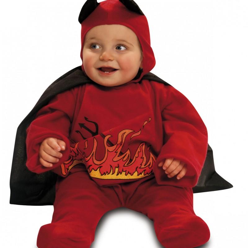 disfraz diablillo rojo bebé