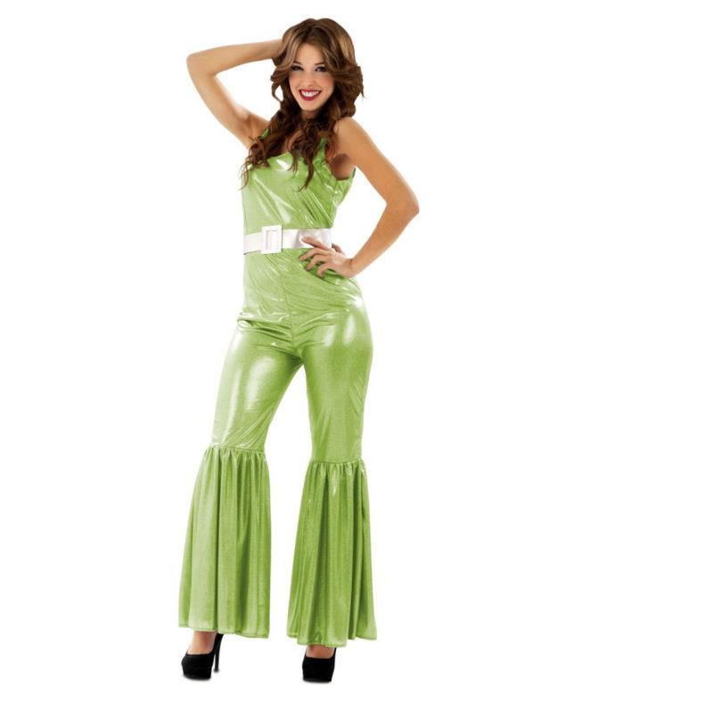disfraz disco verde mujer 200529mom