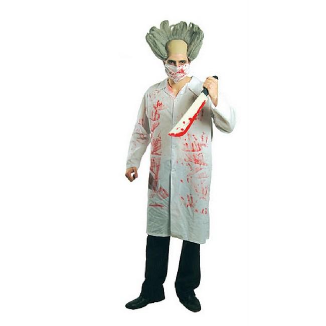 disfraz doctor sangre hombre