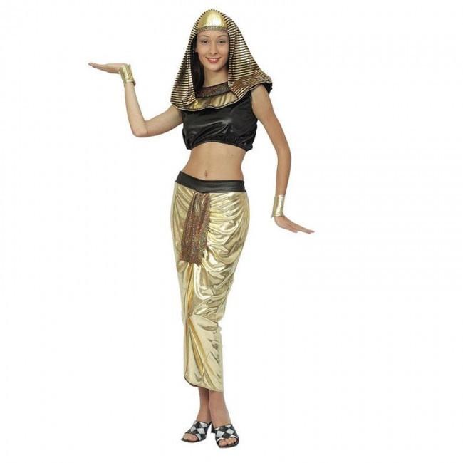 disfraz faraona egipcia mujer