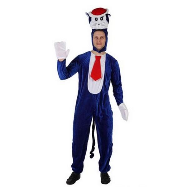 Disfraz de gato azul doraemon disfraces hombre tienda - Disfraces el gato negro ...