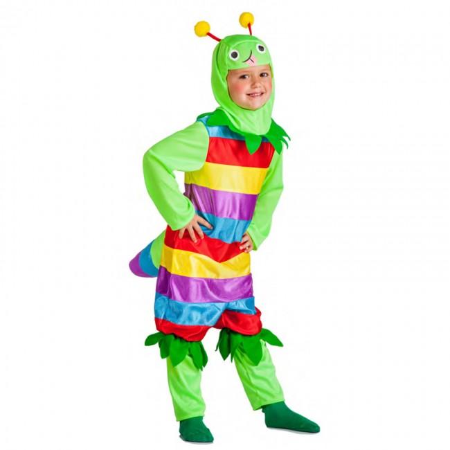 disfraz-gusanito-multicolor-para-nino