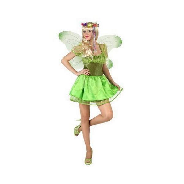 disfraz hada verde mujer