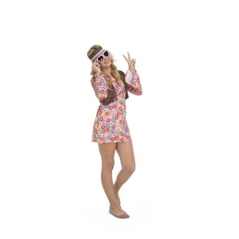 disfraz hippie primavera mujer 202601mom