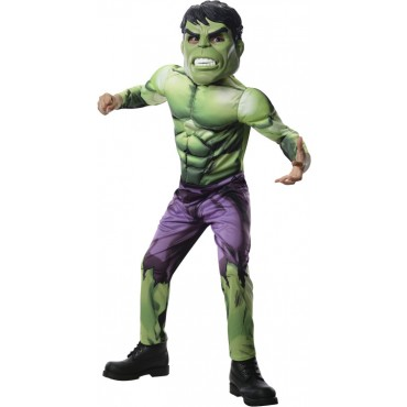 disfraz hulk licencia infantil