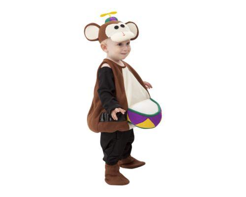 disfraz mono circo infantil