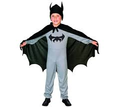 disfraz murciélago niño