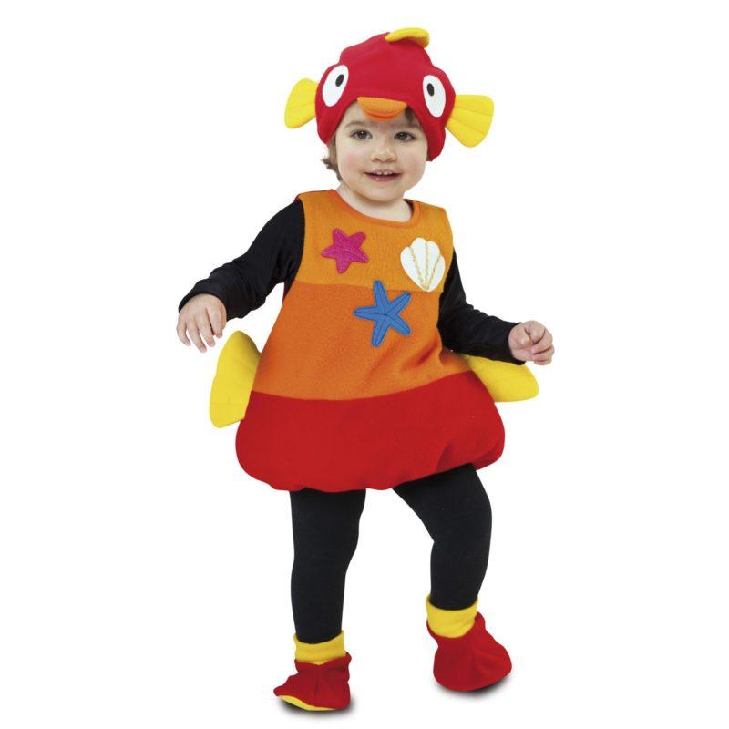 disfraz pequeño pez bebé 203210mom