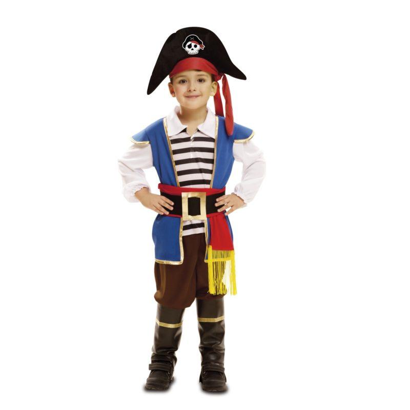 disfraz pequeño pirata azul niño bebé 202003mom