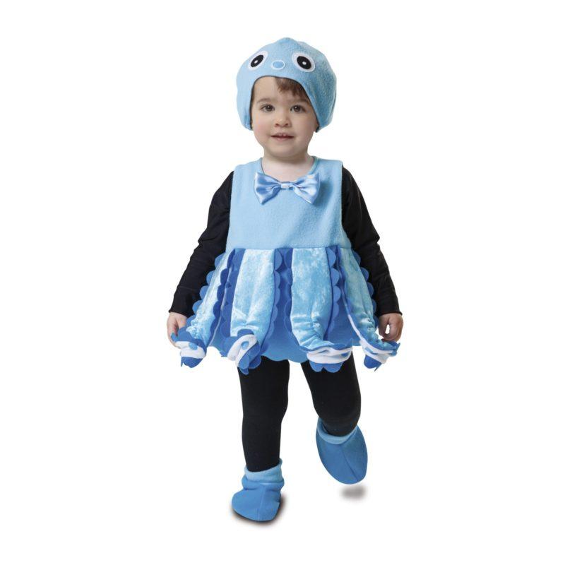 disfraz pequeño pulpo bebé 203208mom