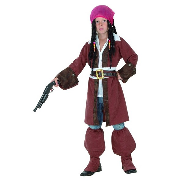 disfraz pirata caribeño niño