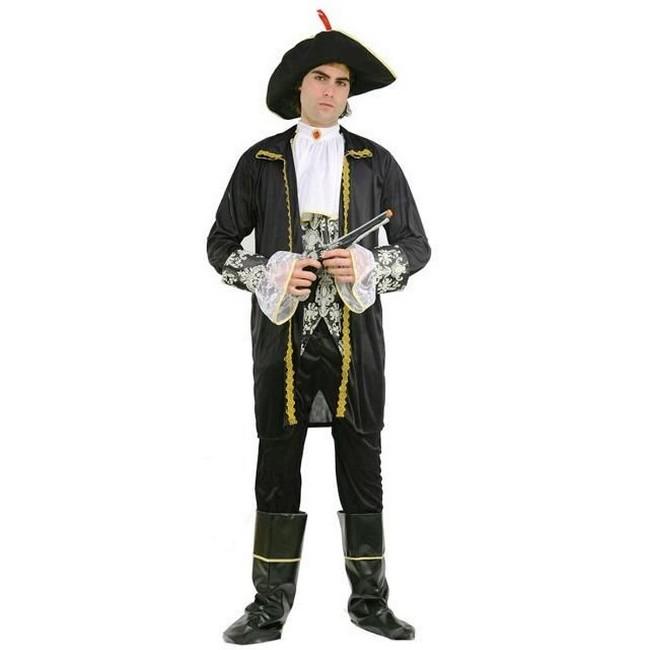 disfraz pirata negro hombre