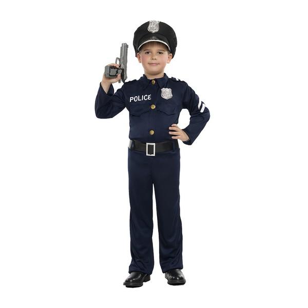 disfraz policia niño k