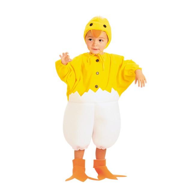 disfraz pollito cascarón bebé