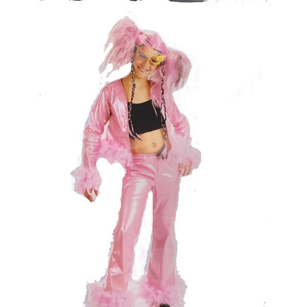 disfraz pop star niña