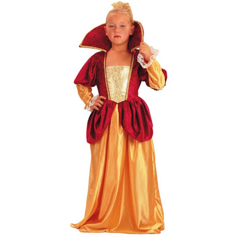 disfraz princesa época