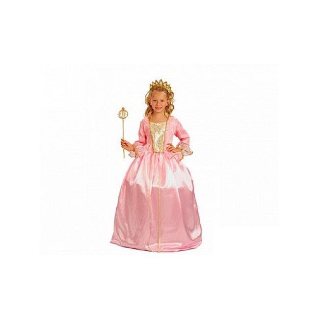 disfraz princesa rosa aro niña