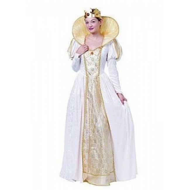 disfraz reina isabel mujer 69584