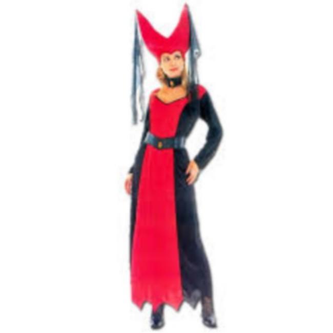disfraz reina medieval halloween mujer