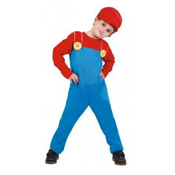 disfraz supermario infantil