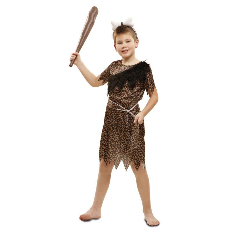 disfraz troglodita aventurero niño