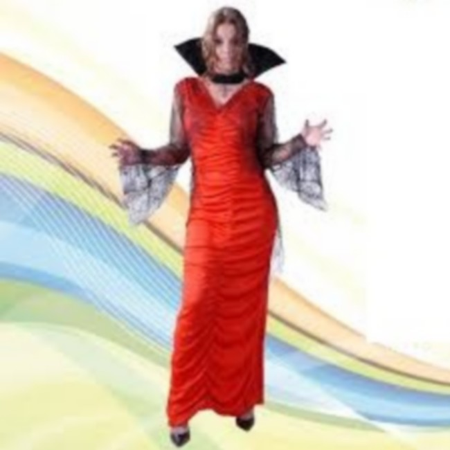 disfraz vampiresa largo mujer