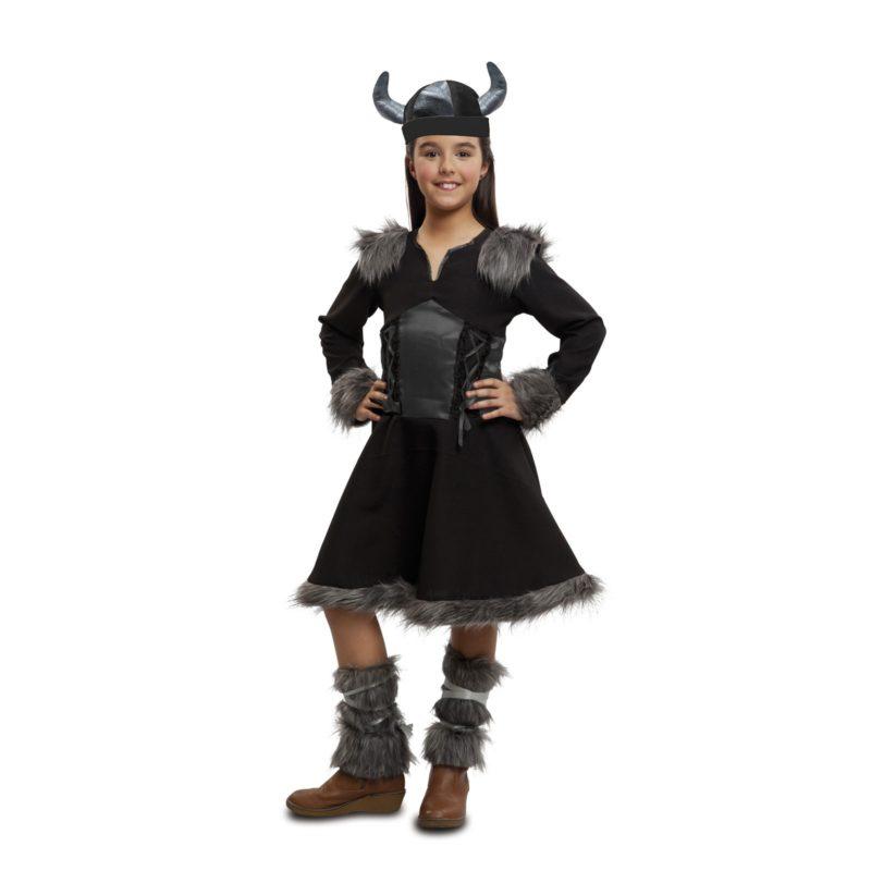 disfraz vikinga salvaje niña 203480mom
