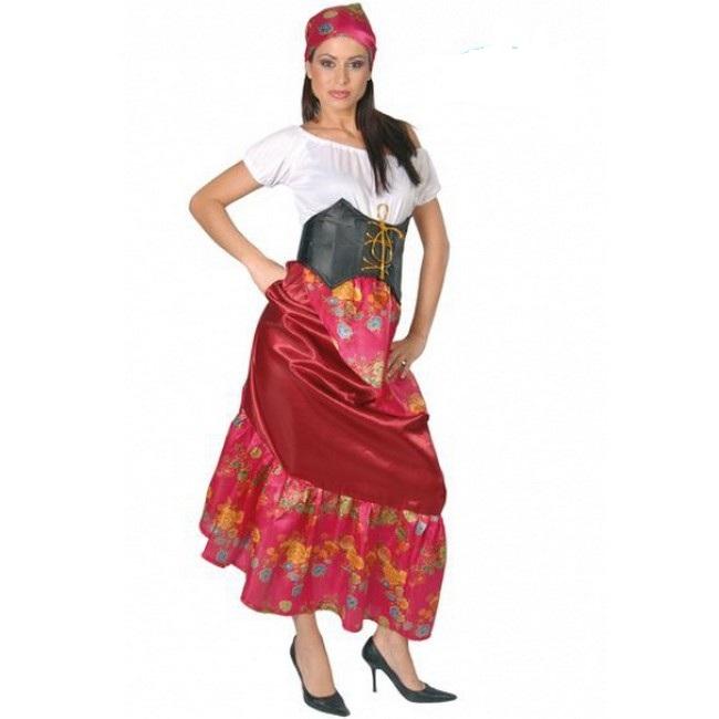 disfraz zingara mujer 80146