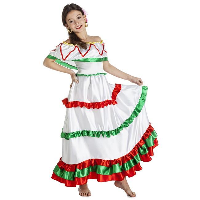 1220 - DISFRAZ DE MEXICANA NIÑA