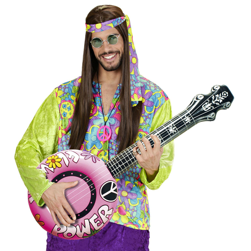 23952 1 - GUITARRA HINCHABLE DE HIPPIE