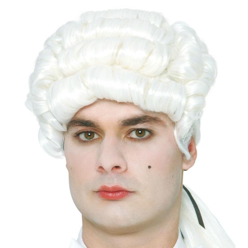 4182 peluca hombre epoca economica con caja 1 - PELUCA ÉPOCA HOMBRE