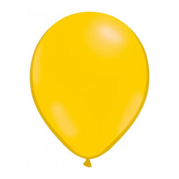 50 globos amarillos - GLOBOS AMARILLOS