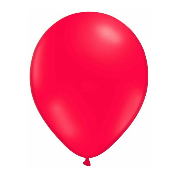 50 globos rojos - GLOBOS ROJOS