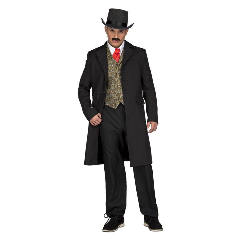 abrigo croupier vaquero hombre 800x800 - DISFRAZ ABRIGO CROUPIER VAQUERO HOMBRE