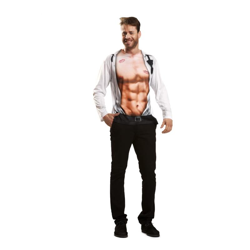camiseta ejecutivo sexy - CAMISETA DISFRAZ  SEXY BOY